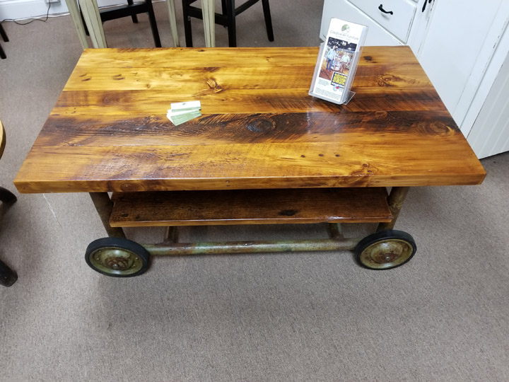04-01 FACTORY CART COFFEE TABLE -