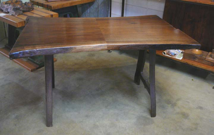 DK-11 Black Walnut Desk with Factory Machine Legs ~ $2295