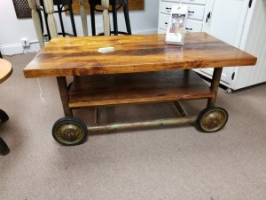 CART COFFEE TABLE 21