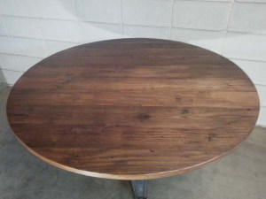 RT-21 AMERICAN CHESTNUT TABLE - top