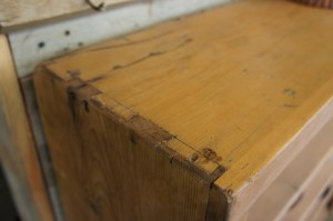 SH-06 Bookcase - dovetails