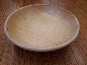 SSB-0348 White Pine Salad Bowl