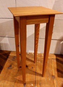 #ET-13 Reclaimed Pine End Table - Tall
