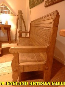 #BN-01 Large American Sweet Chestnut Bench